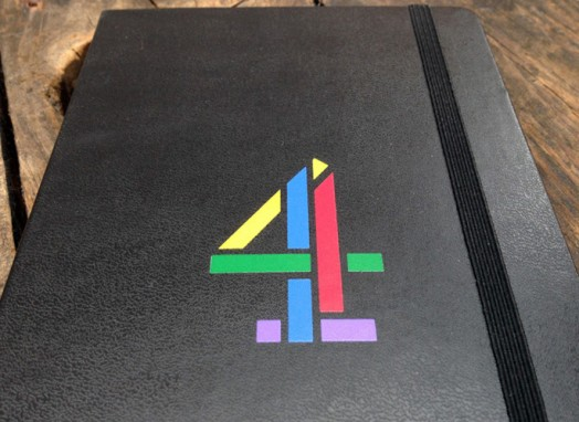 Channel 4 notebook cover