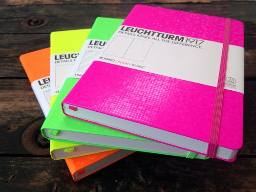 Leuchtturm Neon notebooks