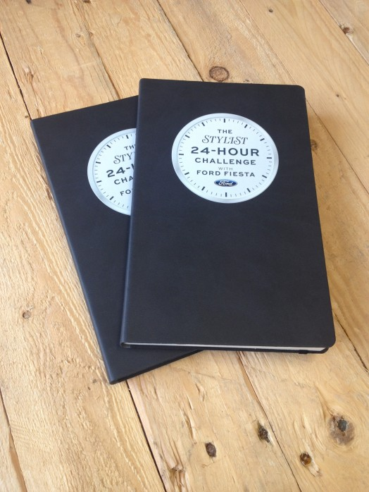 Stylist Ford Challenge Notebooks created by Noted in Style.