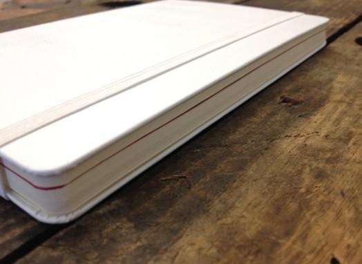 red strip in notebook