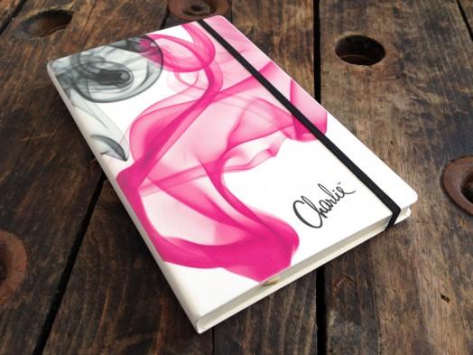 Revlon Charlie full colour printed notebook