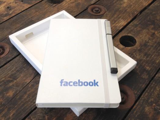 facebook box-book-pen