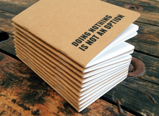 stack of pocket kraft notebooksstack of pocket Kraft notebooks