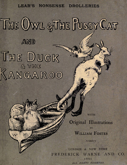 International Limerick Day - The owl & pussy cat