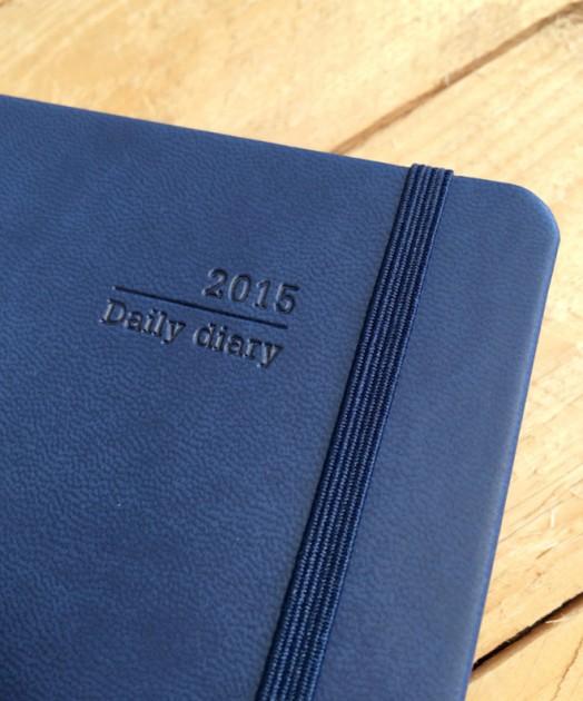 Daily Diary Deboss