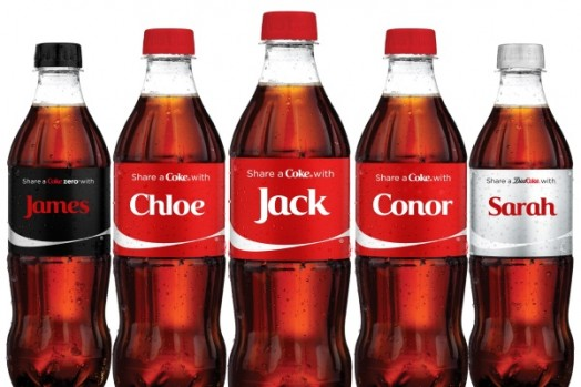 variable data printing coca-cola