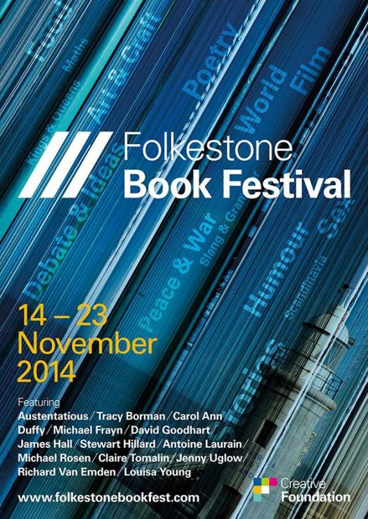 Folkestone book festival poster 2014