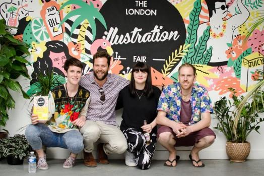 London Illustration team