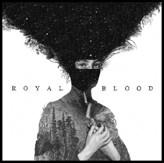 Dan Hillier - Royal Blood's album cover