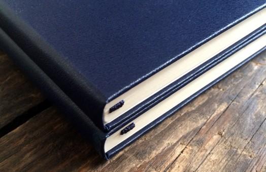 Navy Moleskine notebooks
