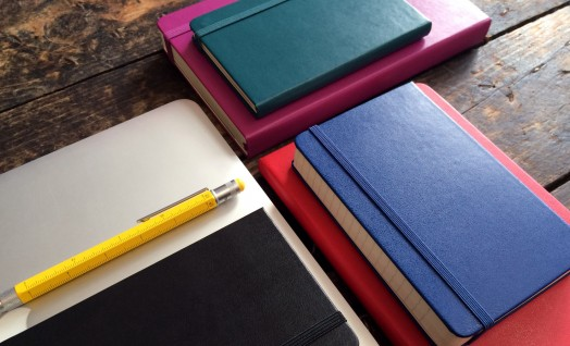 2016 Moleskine coloured diaries