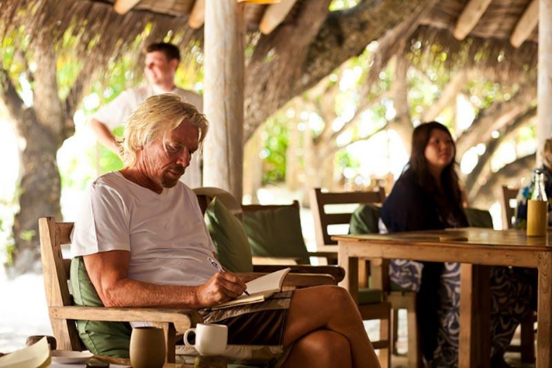 Richard Branson - notebooks & notes