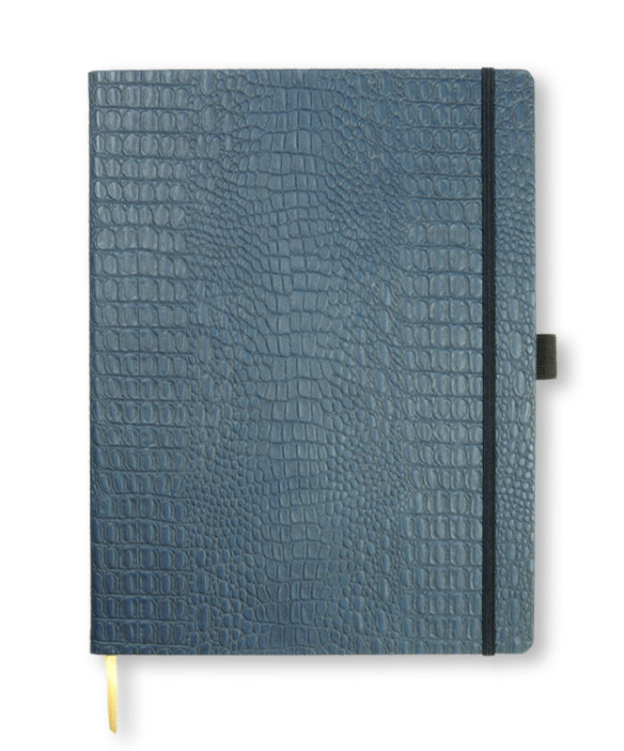 A4 Blue Oceania notebook
