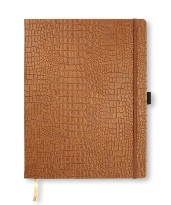 A4 Brown Oceania notebook