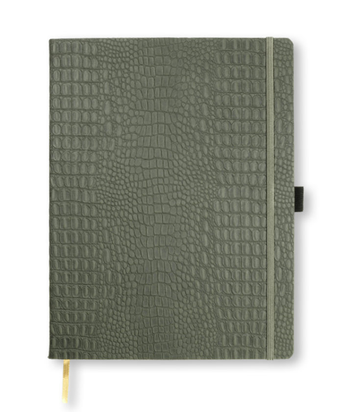 A4 Grey Oceania notebook