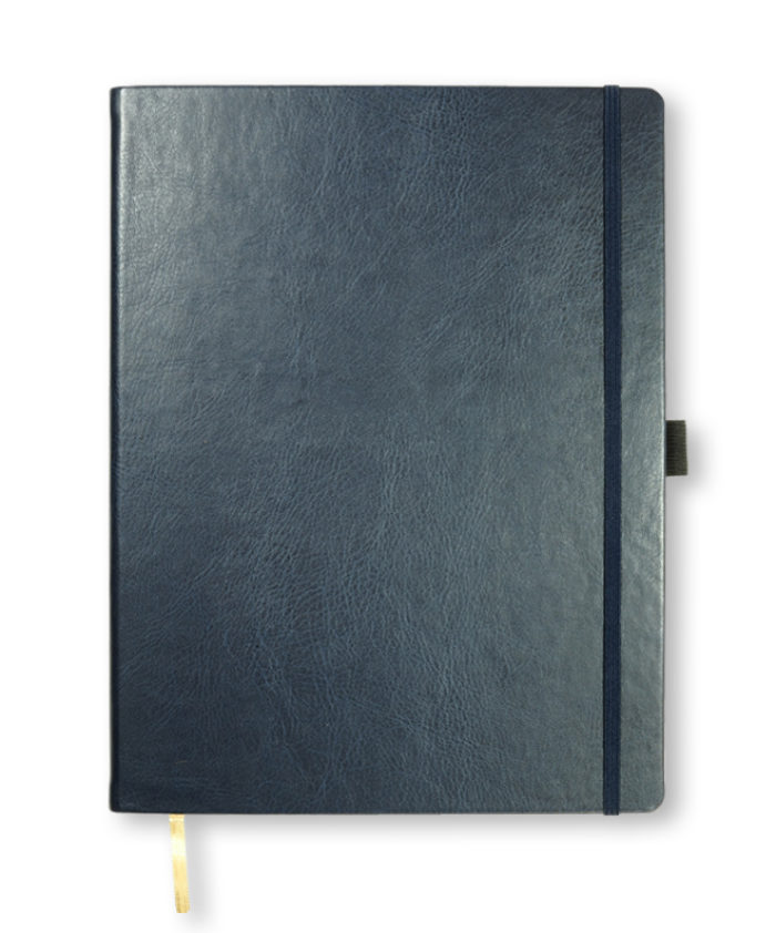 A4 Navy Blue Castelli Sherwood notebook