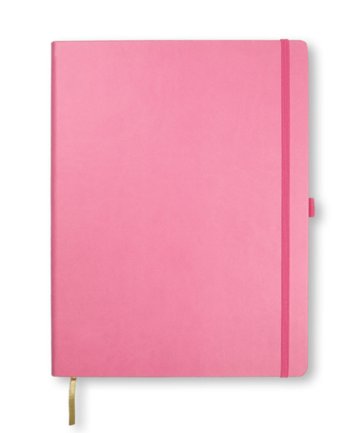A4 Pink Castelli Tucson A4 Pink Tucson hardback notebook