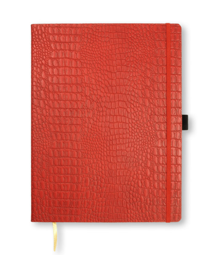 A4 Red Oceania notebook