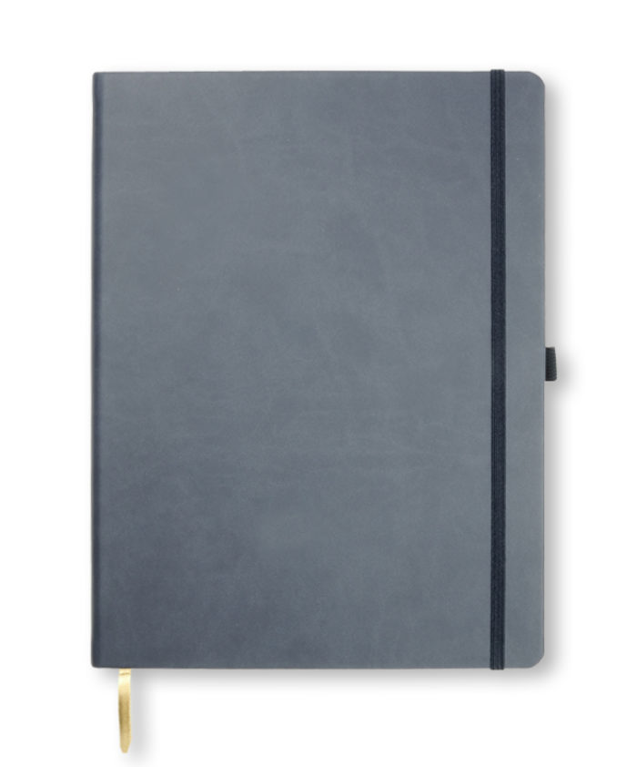 A4 Navy Castelli Tucson hardcover notebook