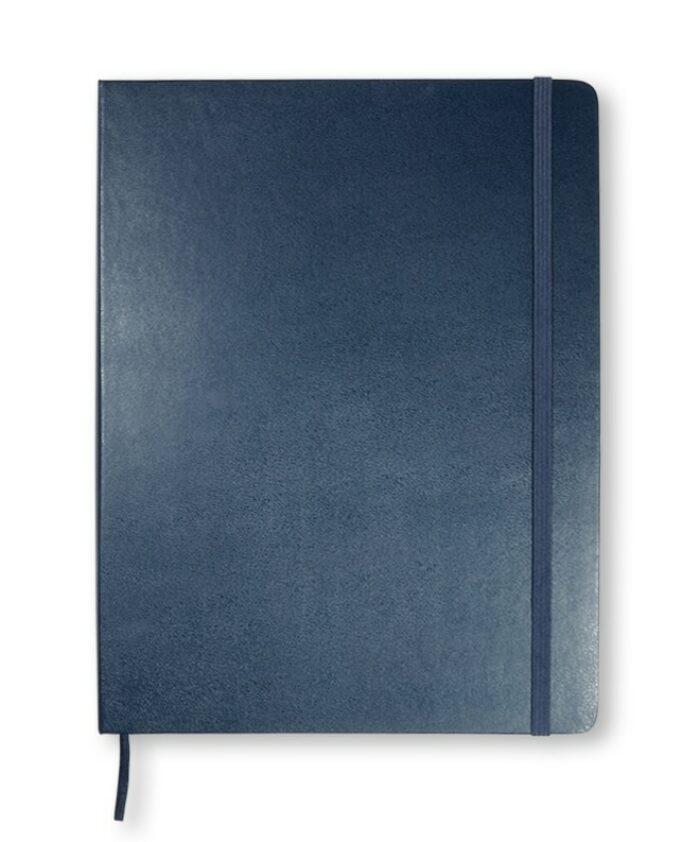 XL Sapphire Blue Moleskine classic hardback notebook