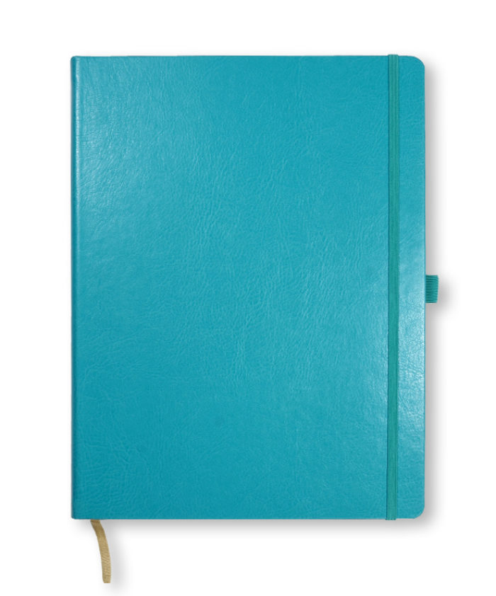 A4 Sky Blue Castelli Sherwood notebook