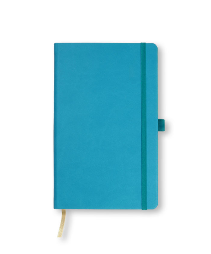 A5 Bright Blue Castelli Tucson hardback notebook