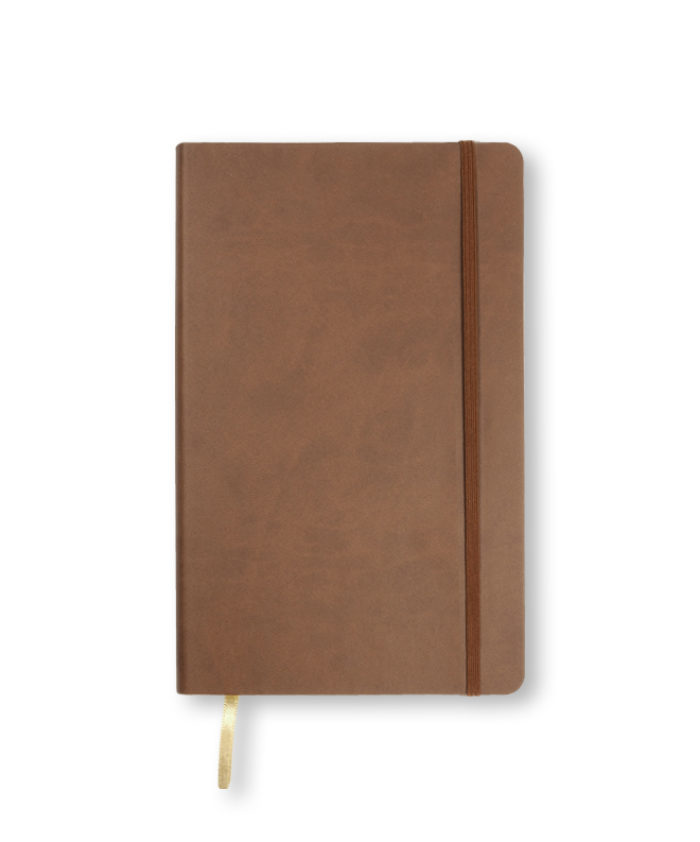 A5 Brown Castelli Flexi notebook