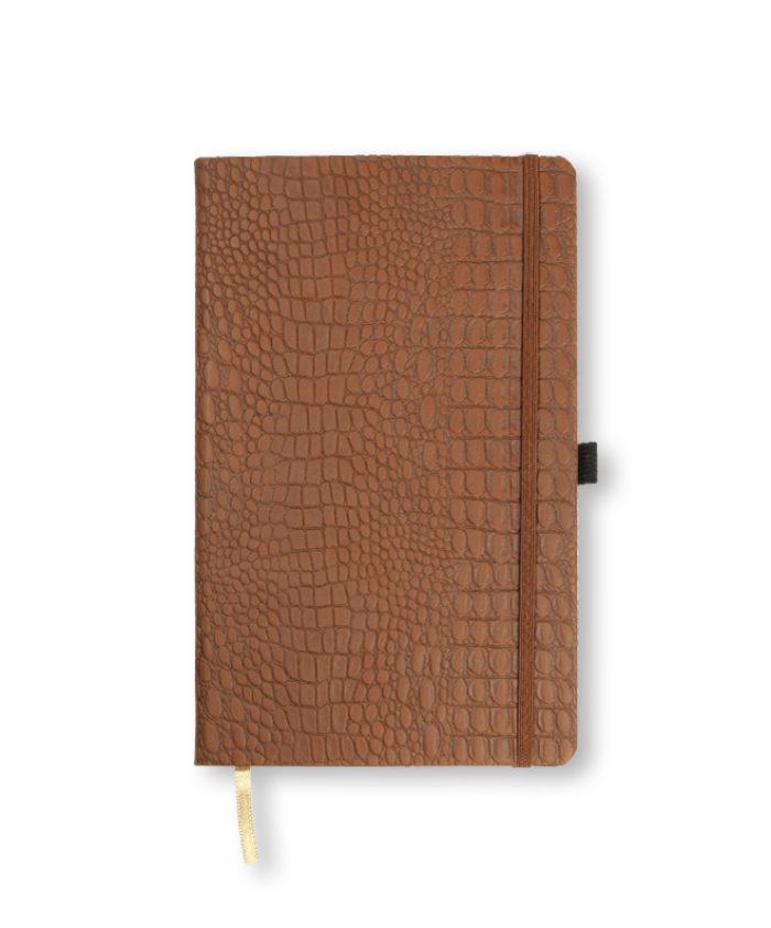 A5 Brown Oceania notebook