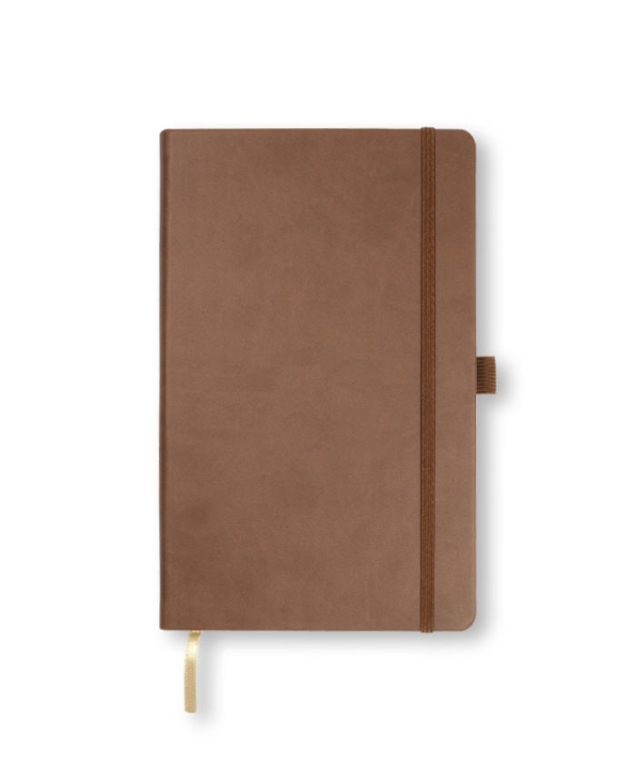 A5 Brown Castelli Tucson hardback notebook