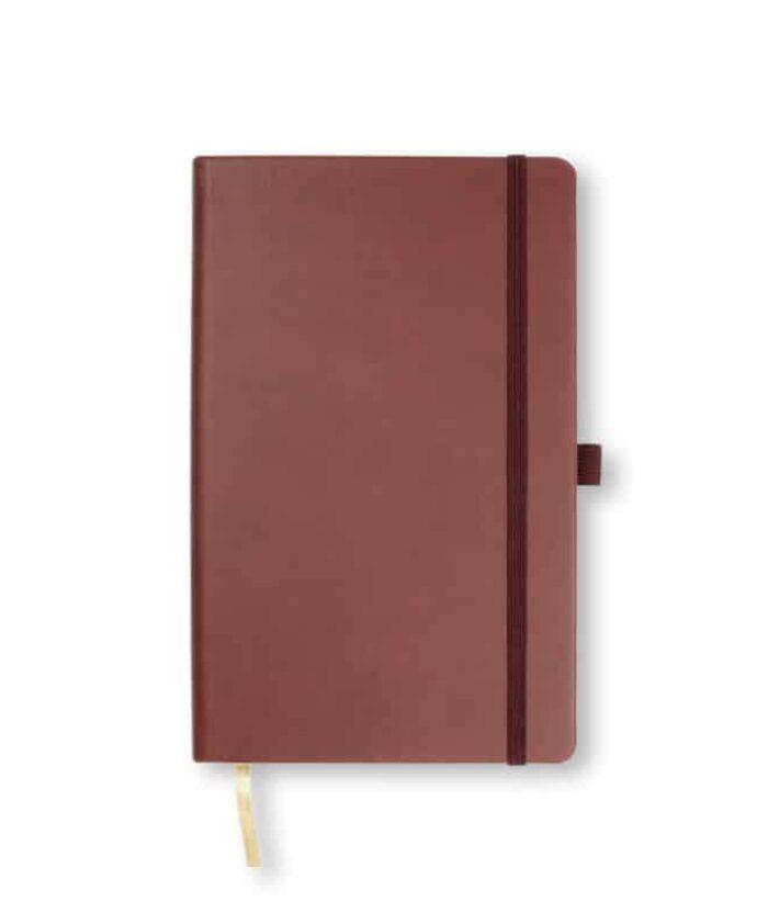 A5 Burgundy Castelli Tucson hardback notebook