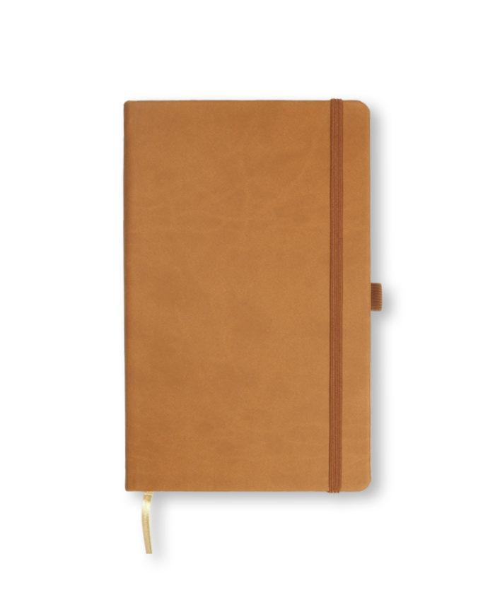 A5 Chestnut Castelli Tucson hardback notebook