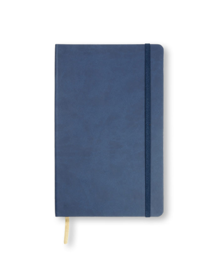 A5 China Blue Castelli Flexi notebook