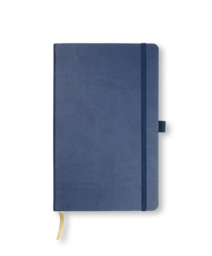 A5 China Blue Castelli Tucson hardback notebook