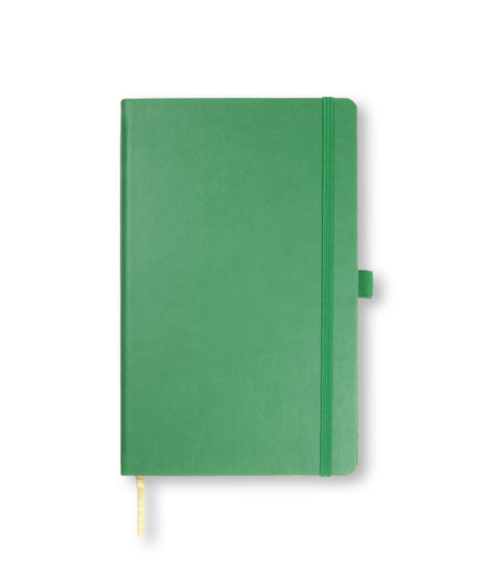 A5 Forest Green Castelli Tucson hardback notebook