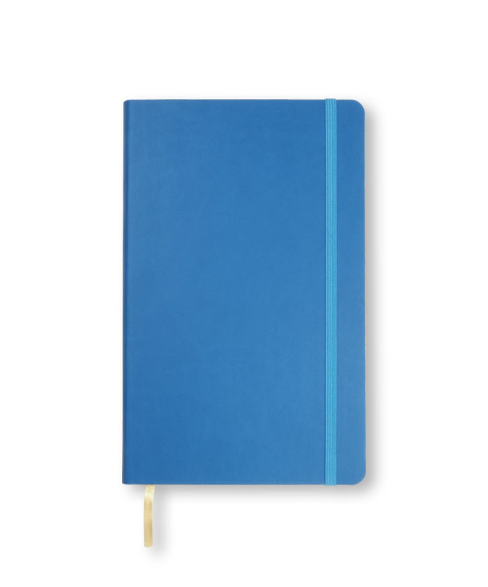 A5 French Blue Castelli Flexi notebook