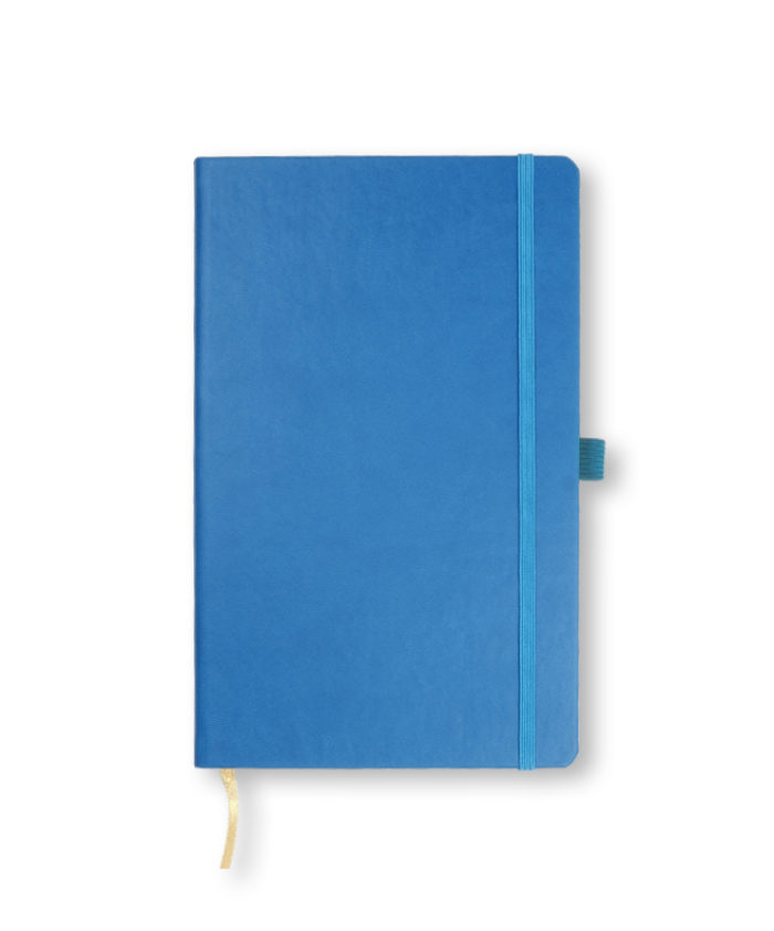 A5 French Blue Castelli Tucson hardback notebook