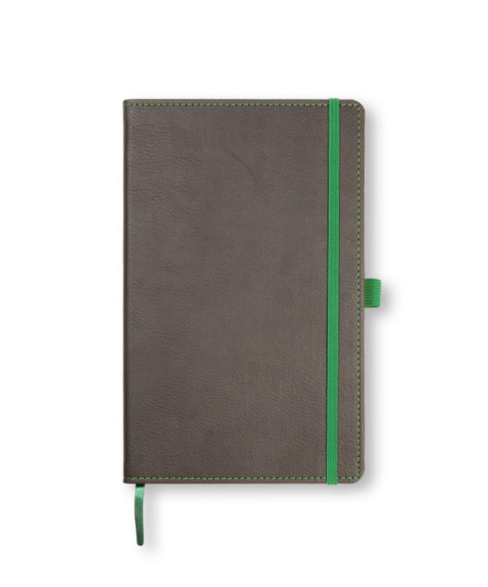 A5 Brown-Green Castelli Phoenix notebook