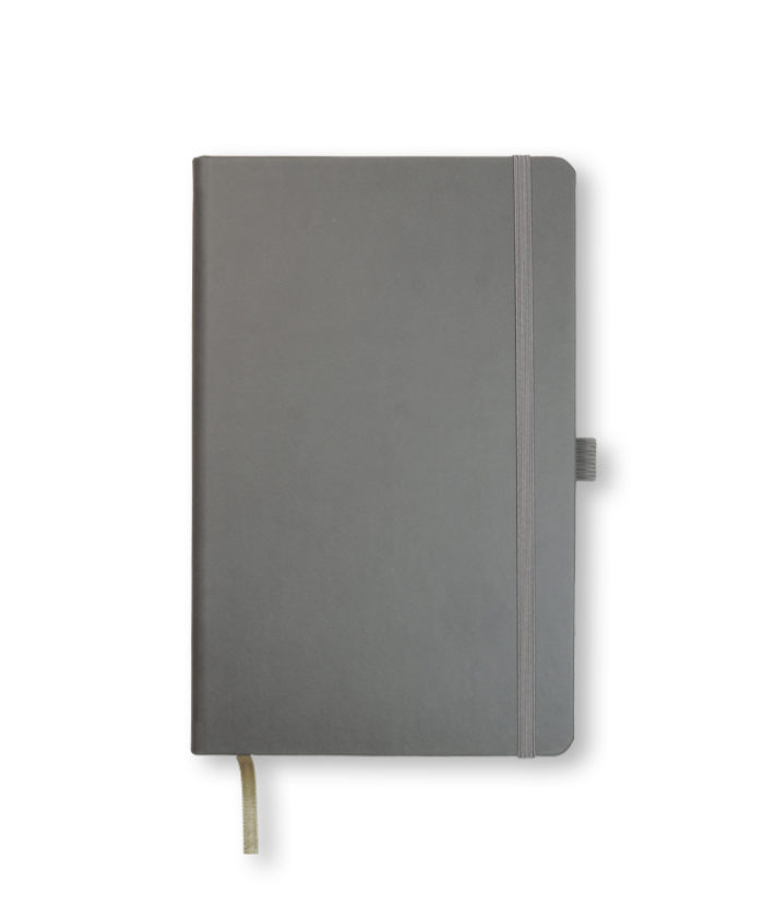 A5 Grey Castelli Tucson hardback notebook