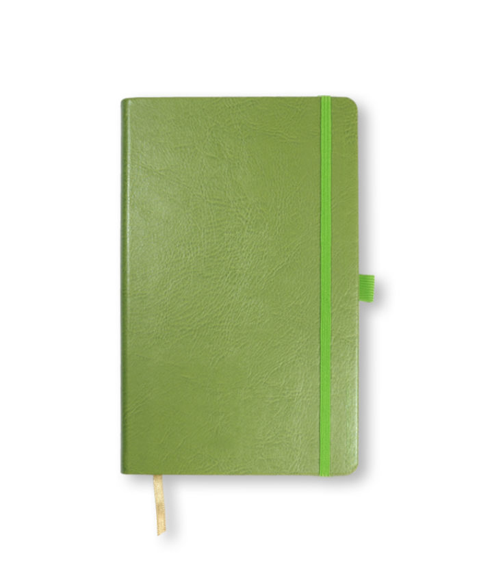 A5 Lime Green Castelli Sherwood notebook