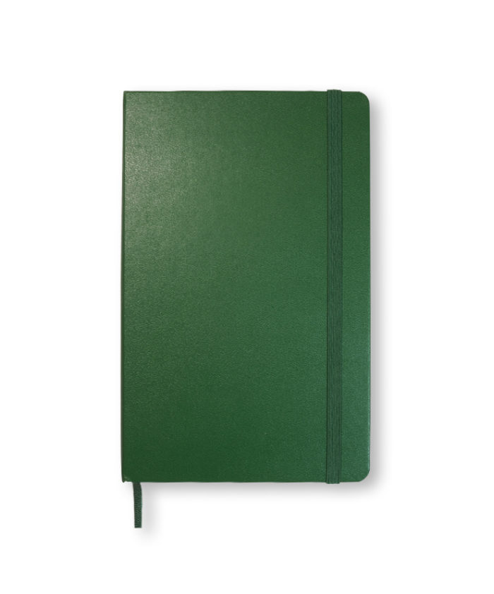 A5 Myrtle Green Classic Moleskine