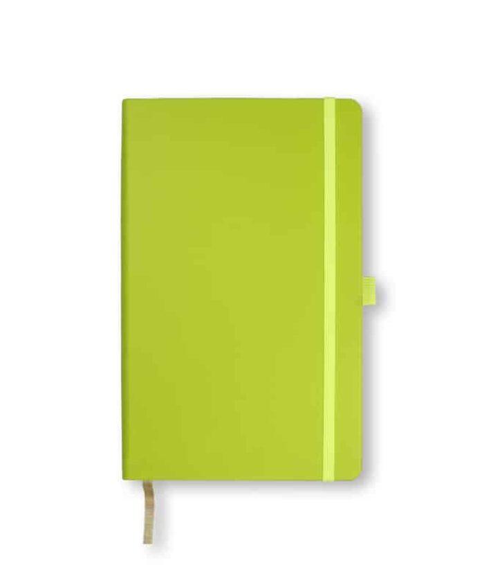 A5 Neon Green Castelli Tucson hardback notebook
