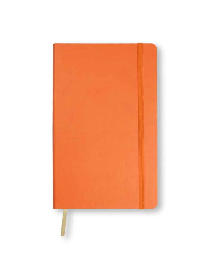 A5 Orange Castelli Flexi notebook