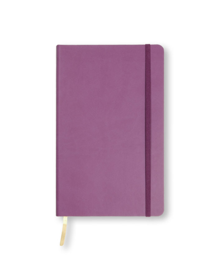 A5 Purple Castelli Flexi notebook