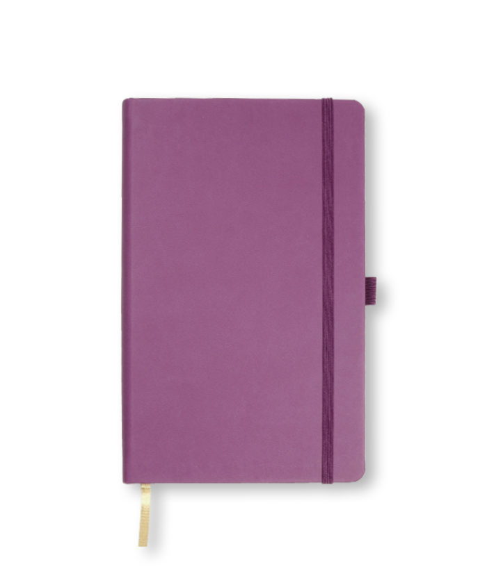 A5 Purple Castelli Tucson hardback notebook