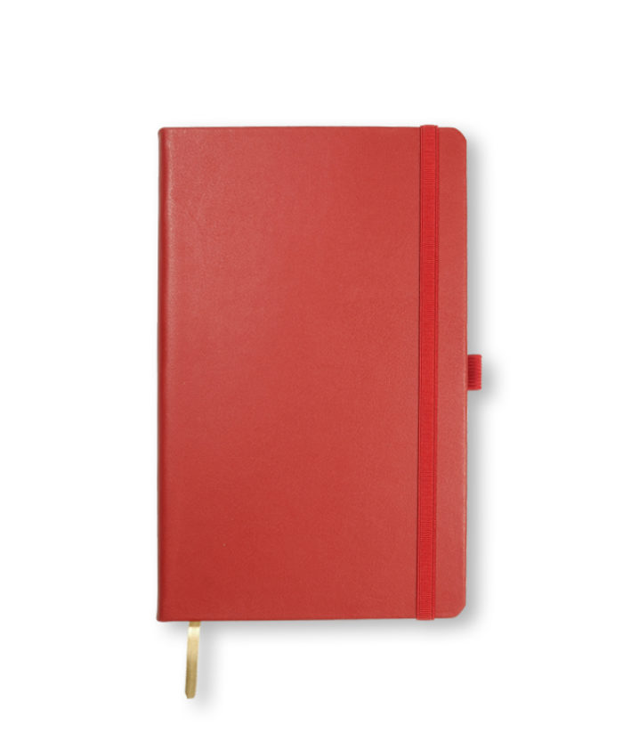 A5 Red Castelli Cordoba notebook