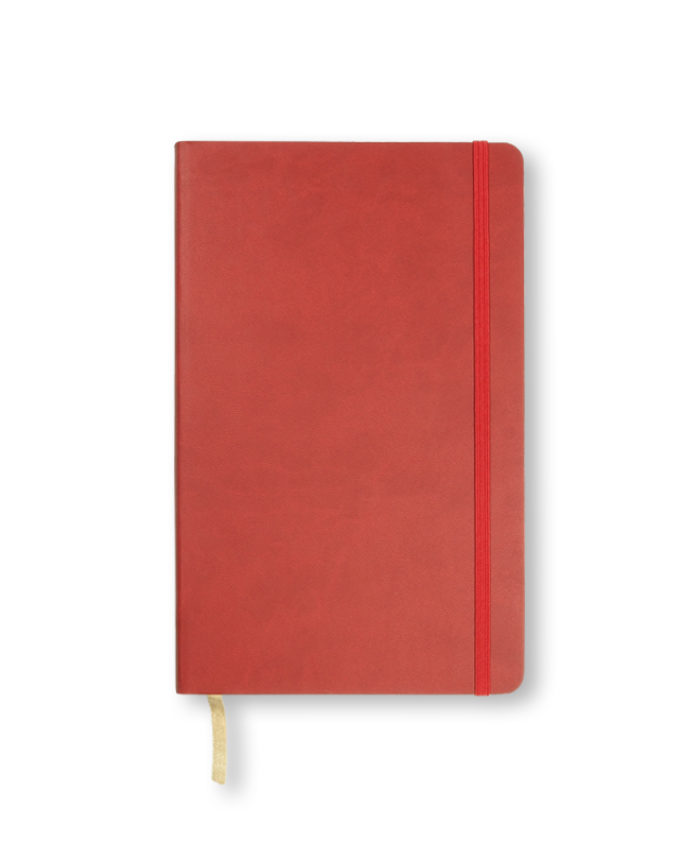 A5 Red Castelli Flexi notebook