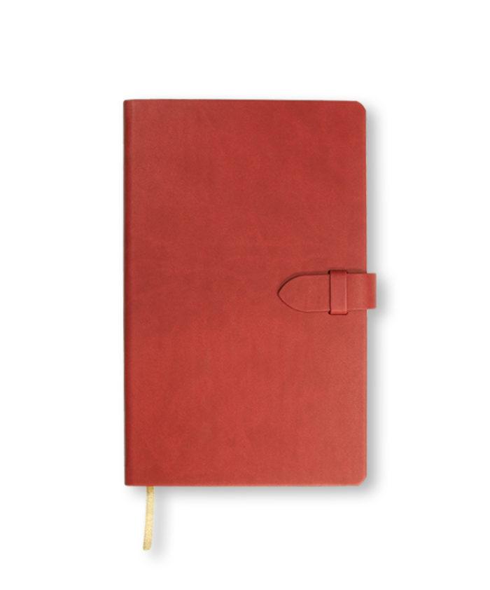 A5 Red Castelli Mirabeau notebook