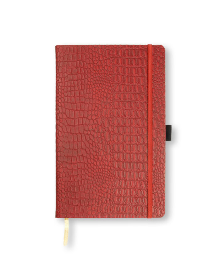 A5 Red Oceania notebook