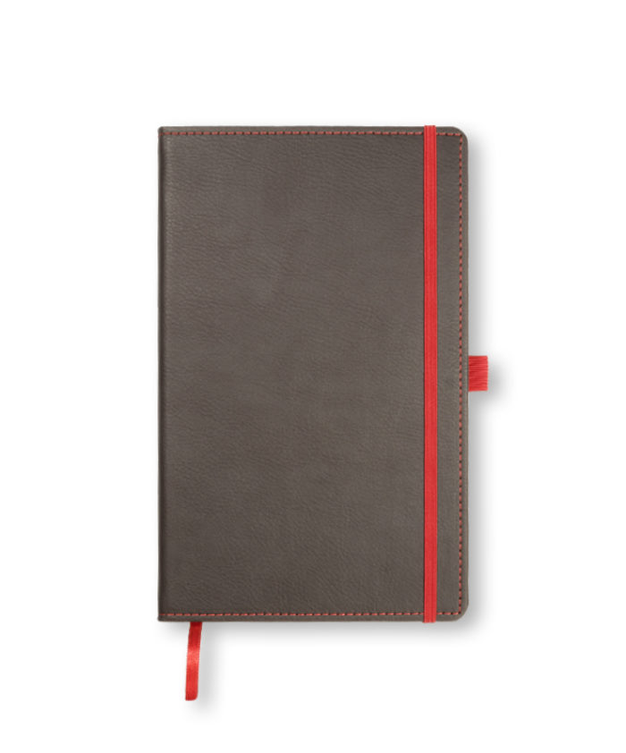 A5 Brown-Red Castelli Phoenix notebook