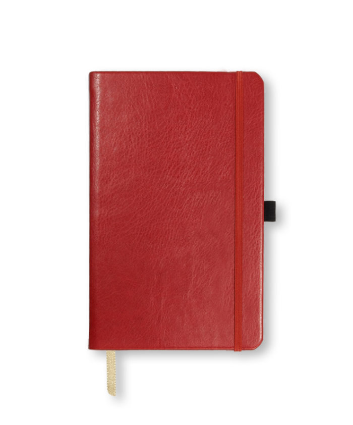 A5 Red Castelli Sherwood notebook